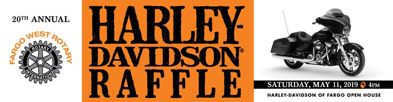 20th Annual Fargo West Rotary Harley-Davidson Raffle - Red River Zoo